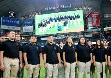 THS Choir at the Astros Game
