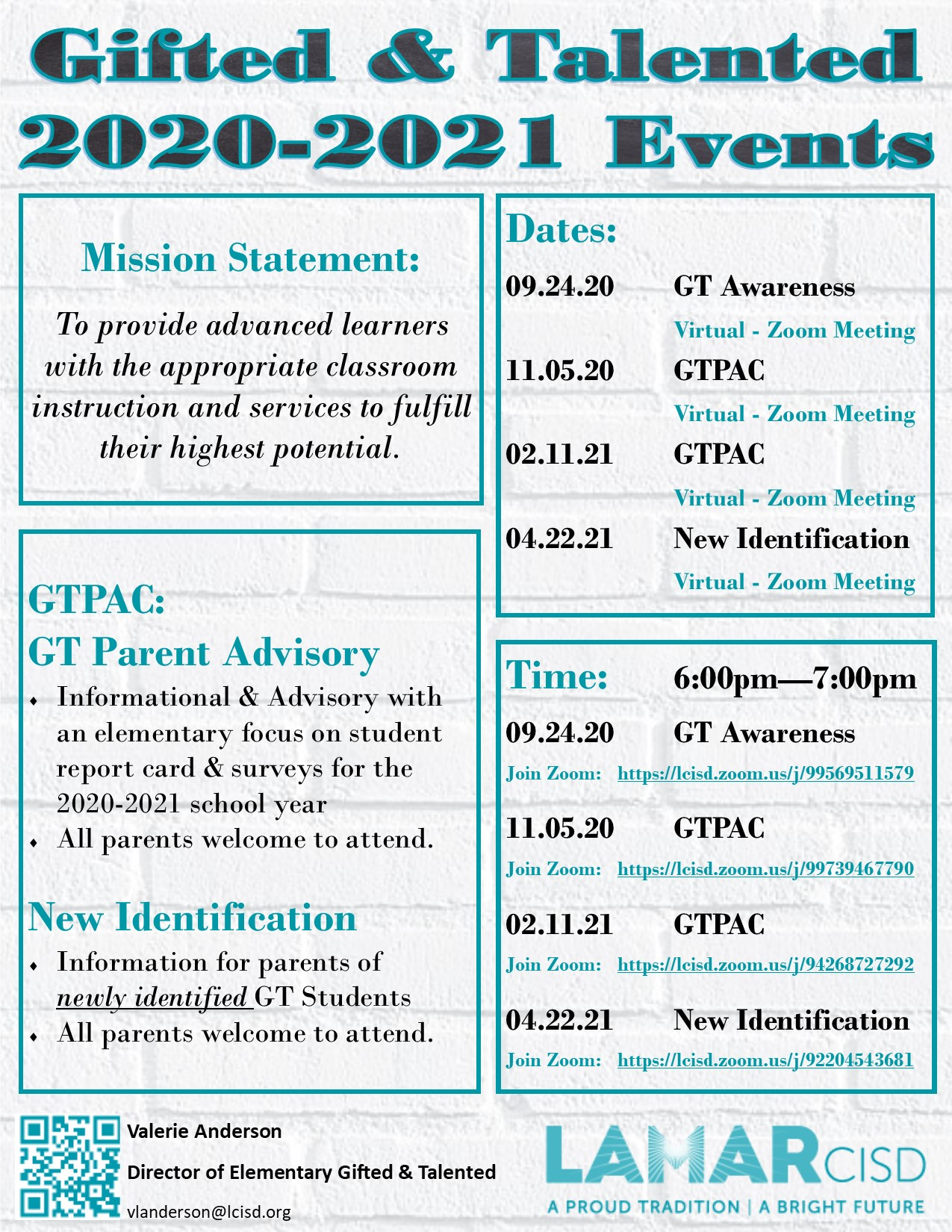 20.21 GT Events Flyer
