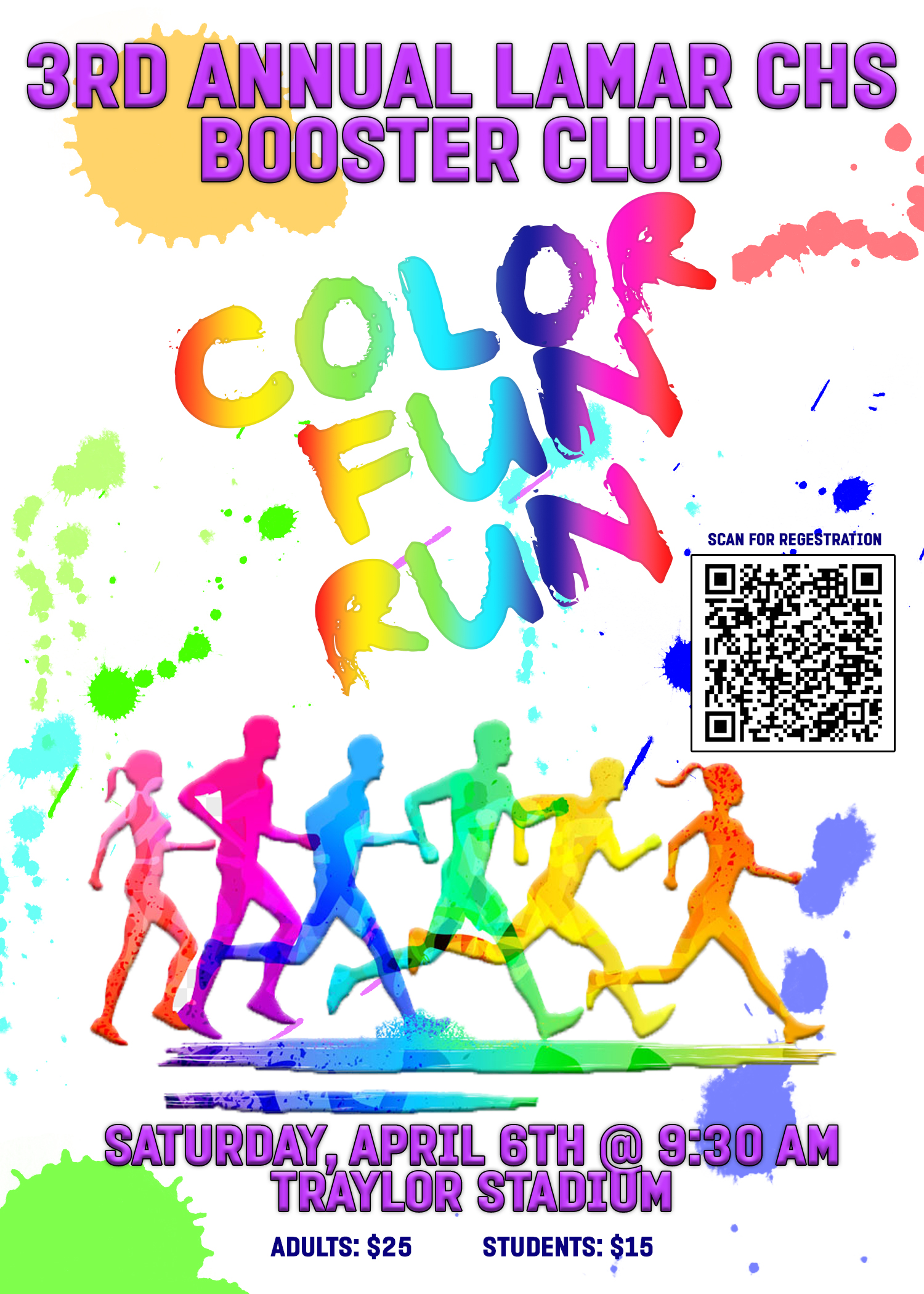 2019 COLOR RUN FLYER