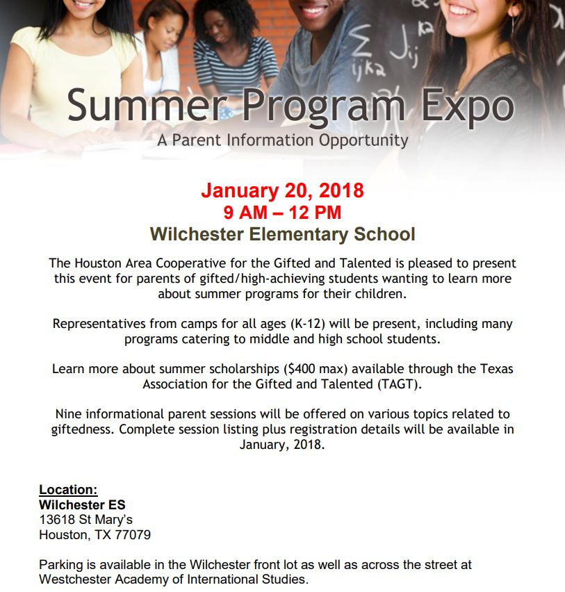 Coop Parent Expo Flyer