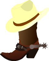 cowboy-hat-clipart-black-and-white-white-cowboy-hat-and-boots-hi