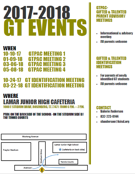 GT Events 17.18