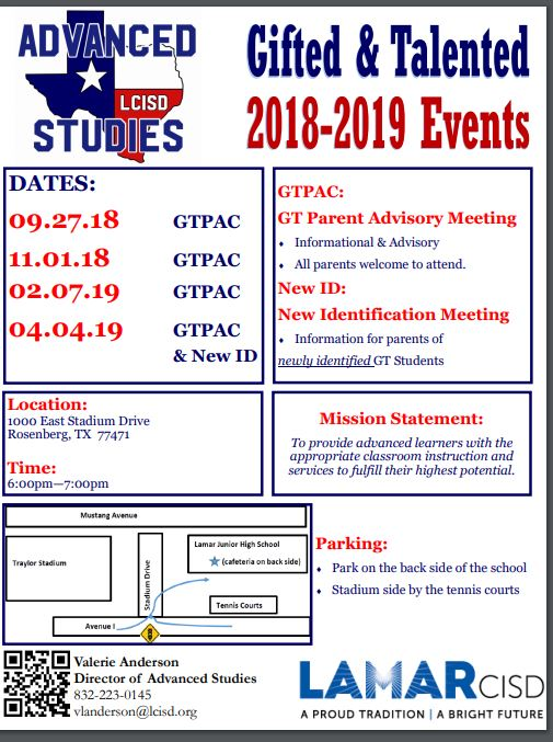 GT Events 2018-2019