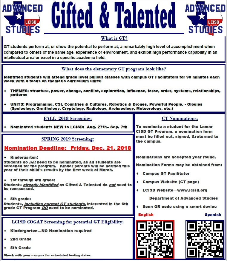 Who Are Gifted And Talented And What Do >> Gifted Talented