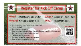 KickOff Camp Flyer