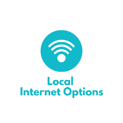 Local Internet Options Button