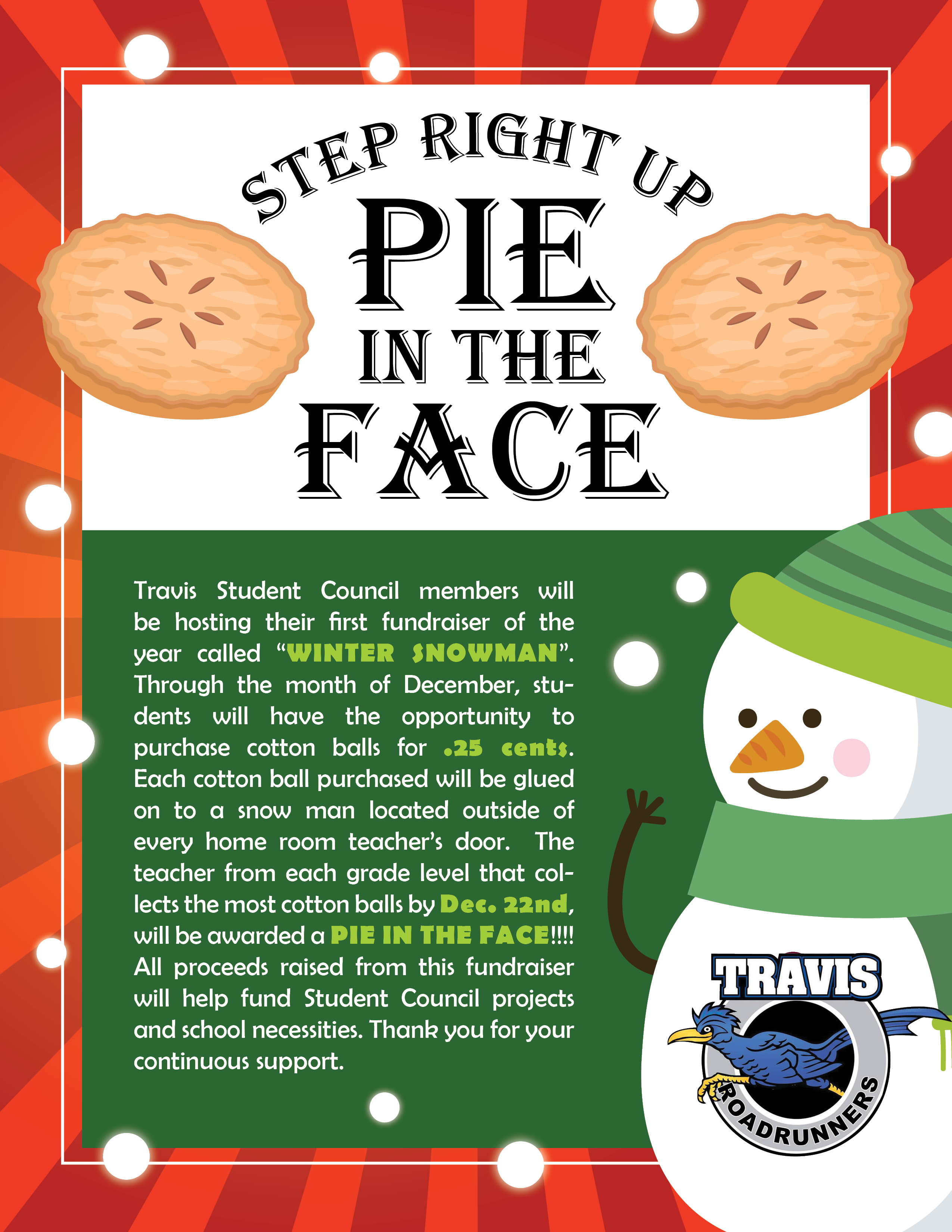 Pie on the Face