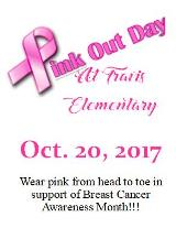 Pink Out Day website