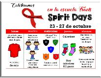 Red Ribbon Week 2017 flyer Spanish