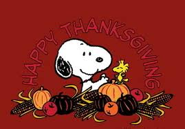 Thanksgiving with Snoopy