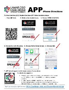 To download the LCISD Student Services APP follow the below steps_Page_1