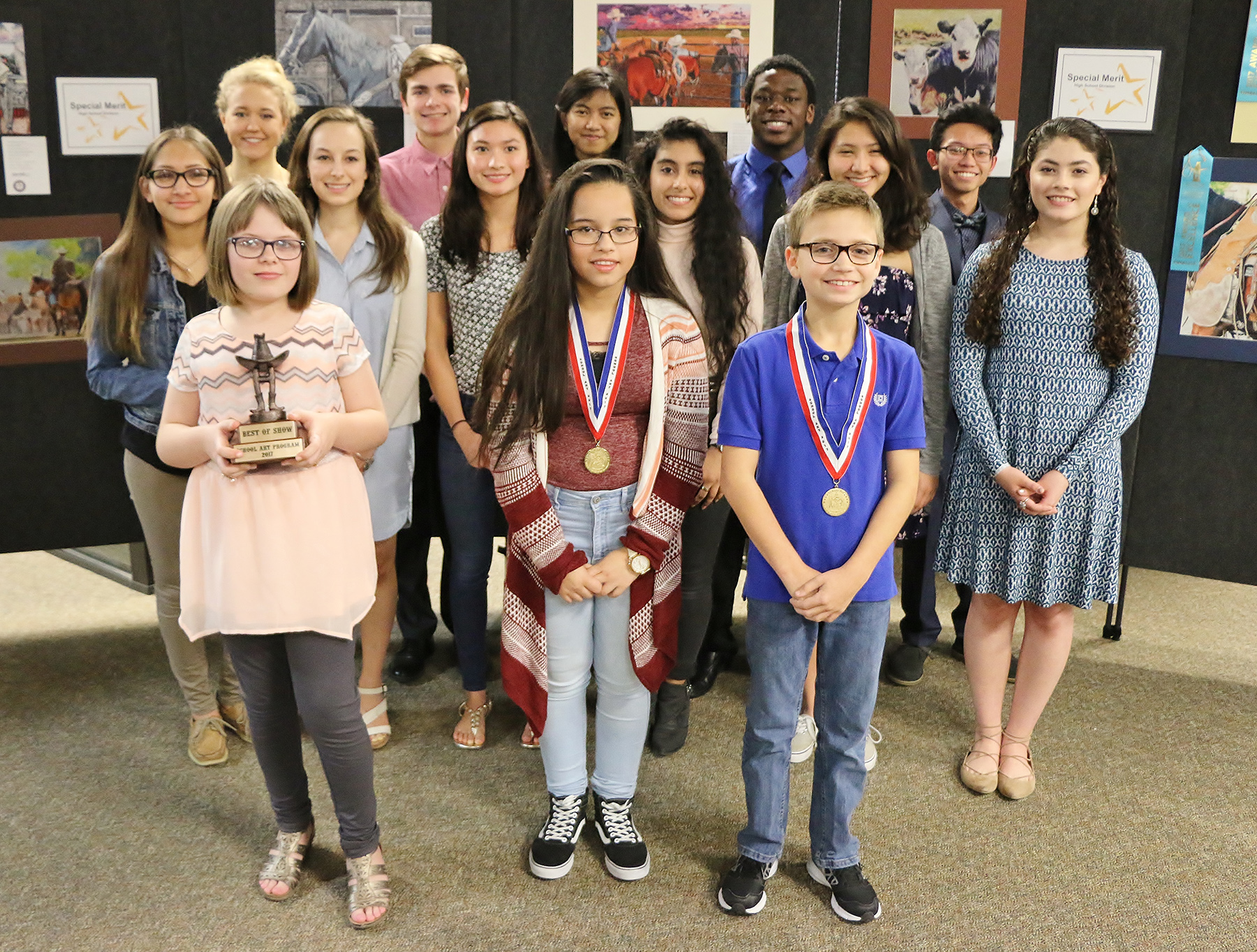 2017 art show winners